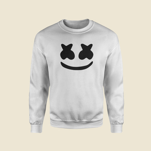 Marshmello White Sweatshirt