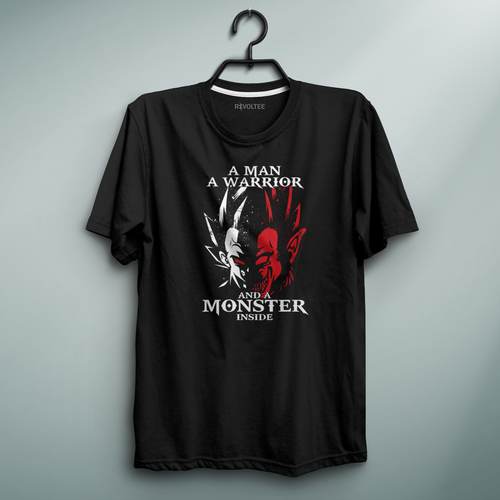 Monster Black Tee
