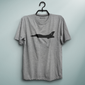 PAF Fighter Jet Gray Tee