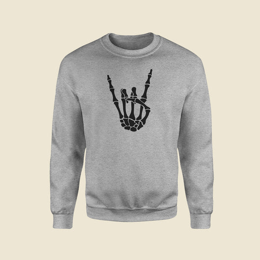 Rock On Grey Sweatshirt