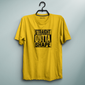 Straight Outta Shape Yellow Tee