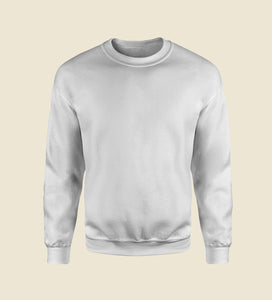 White Essential Sweatshirt