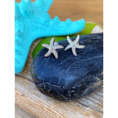 STARFISH CZ EARRINGS