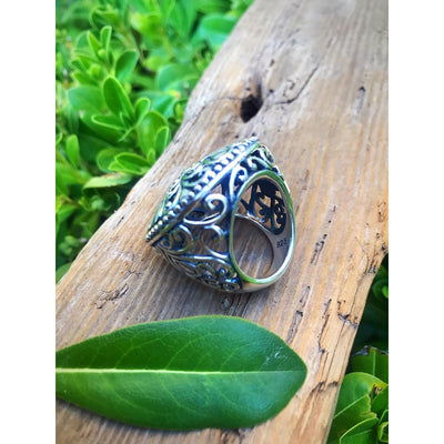 GRAND FLORAL RING