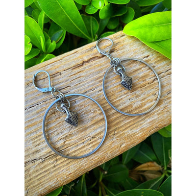 ARROW HOOP EARRINGS