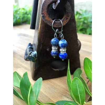GEMSTONE GLIMMER EARRINGS