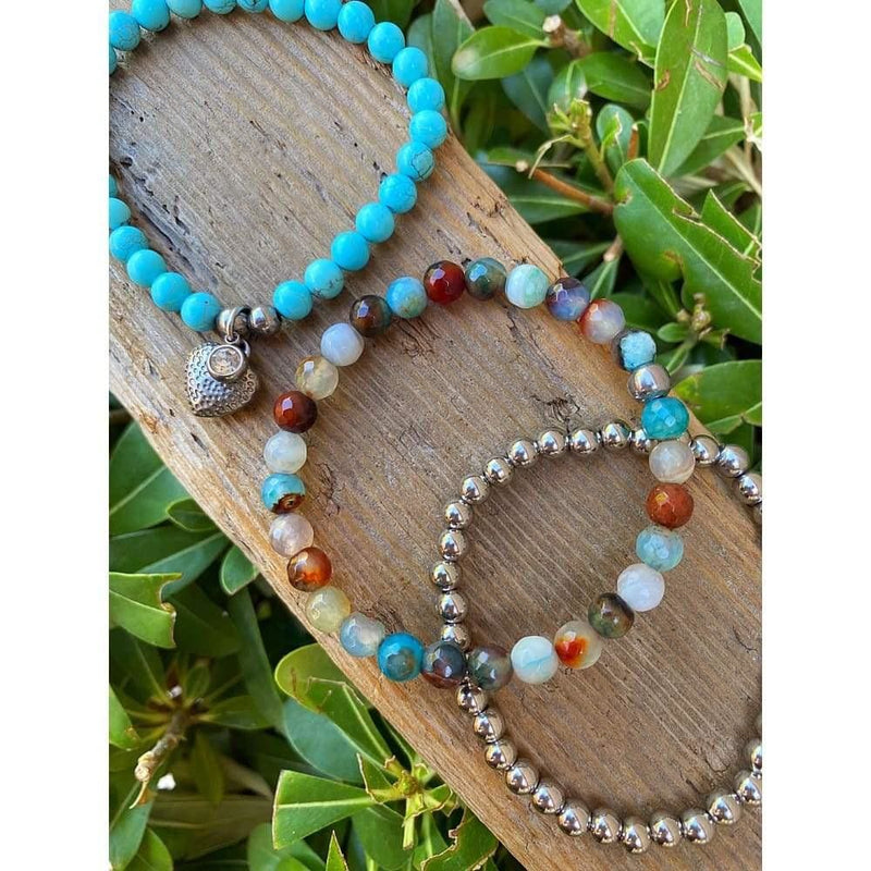 TURQUOISE 3PC STACK