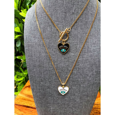 DIVINE HEART NECKLACE