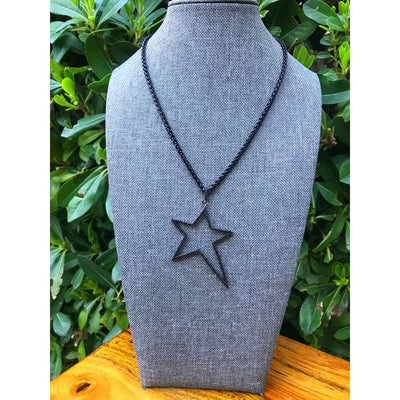 PAVÉ ROCK STAR NECKLACE