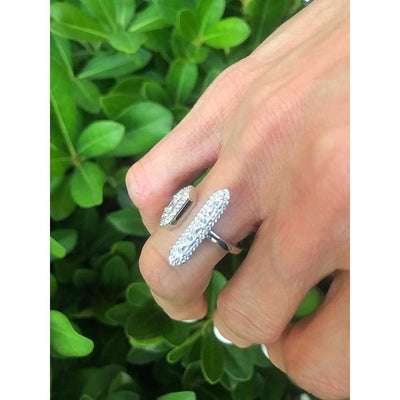ART DECO BAR RING