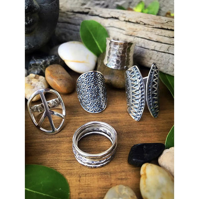 MANDALA SPIRIT RING