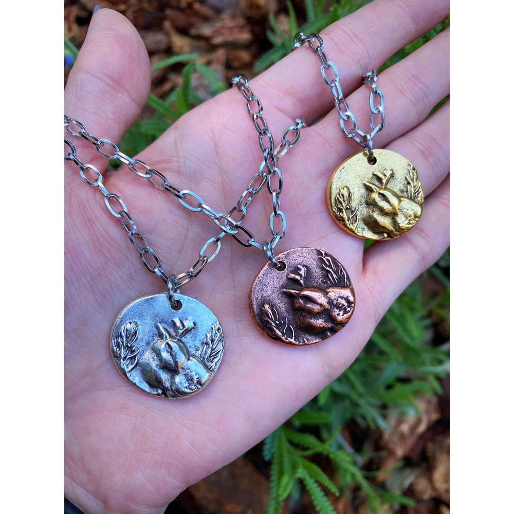 SPARROW COIN NECKLACE
