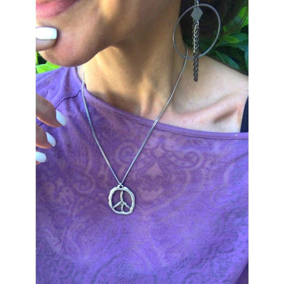 PEACE PENDANT NECKLACE