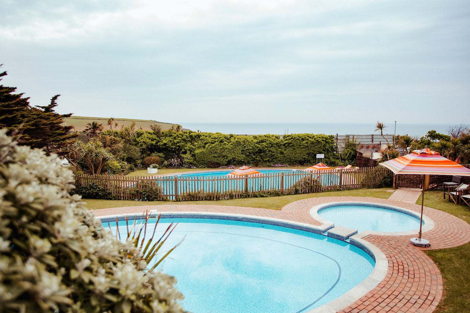 Bedruthan Hotel swimming pools