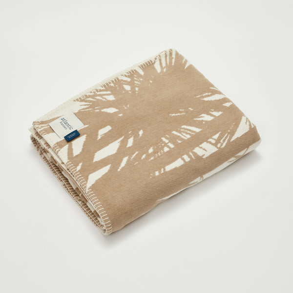Palm Recycled Cotton Blanket