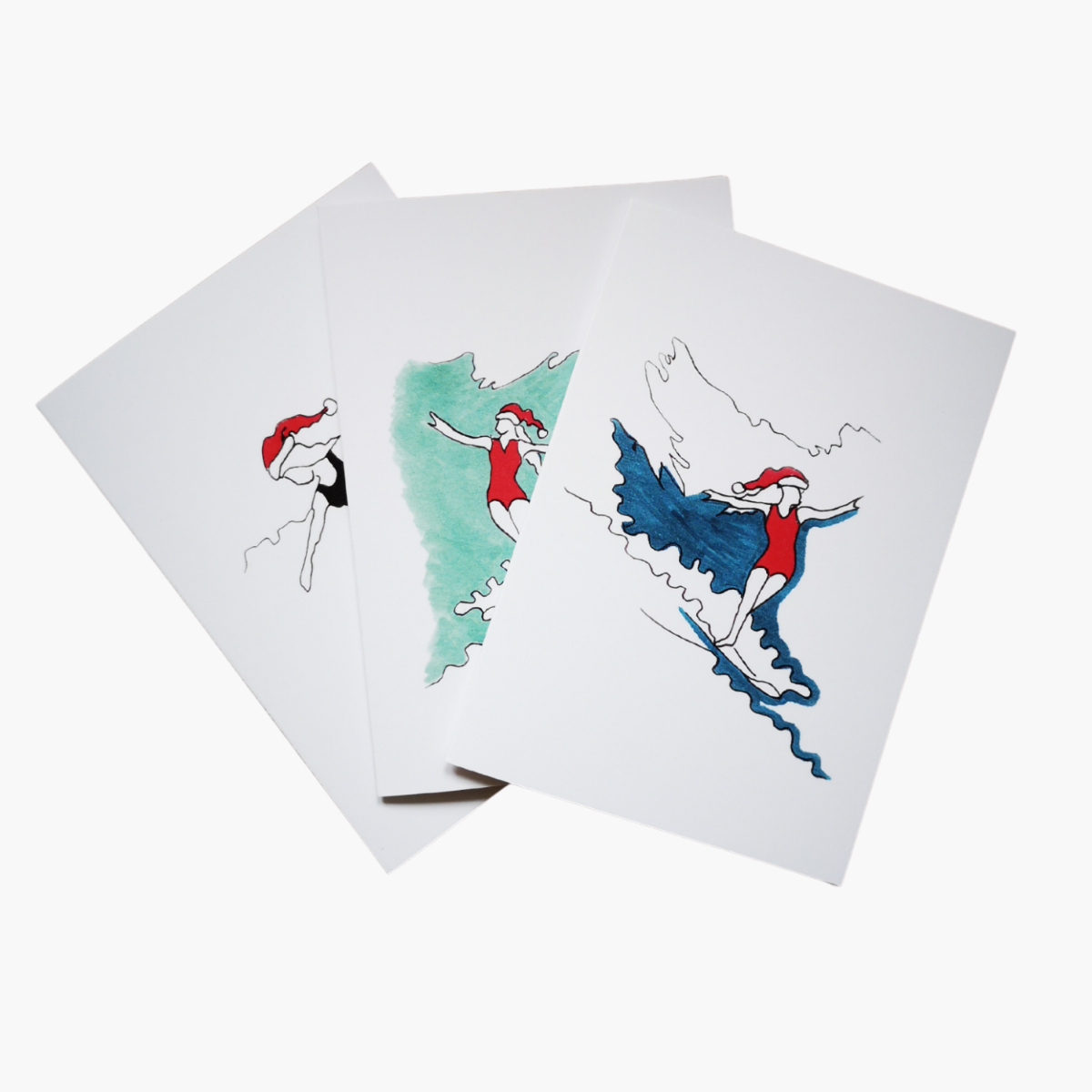 Christmas Wave Cruiser Greetings Card Pack
