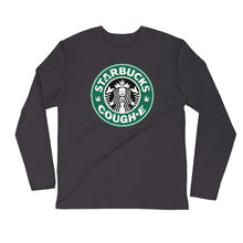TopShelf Cough*E - Long Sleeve Fitted Crew