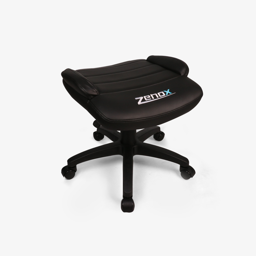 Footstool for Racing Chair (Black)