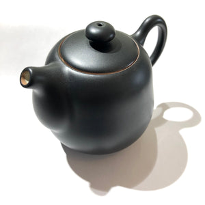 "Lin's Ceramics Teapot ""Black Pear"""