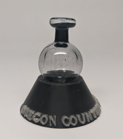 Oregon Country Fair logo potion cfl shifting Bubble Cap