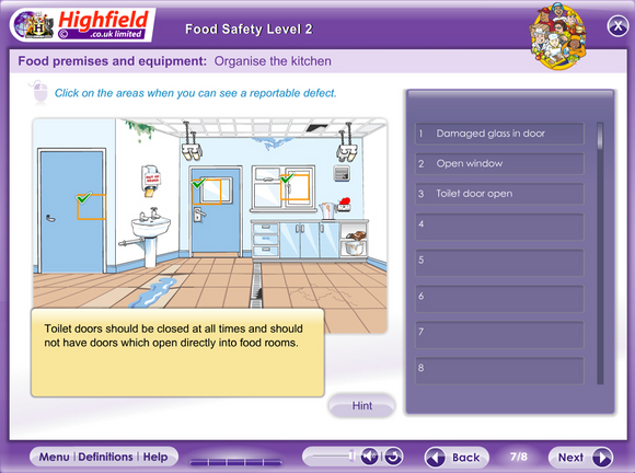 This innovative, multi-device e-learning course provides learners with the knowledge they need to go on to achieve a level 2 Food Safety qualification in a fun and interactive way.