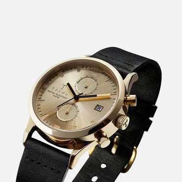 Reloj Sort of Black Gold Chrono - Reloj - BlackBird Enchufarte