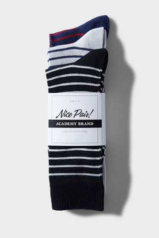 Triple Pack Sock