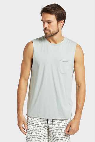 Blizzard Wash Muscle Top