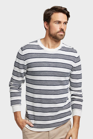 Newport Stripe Crew Knit