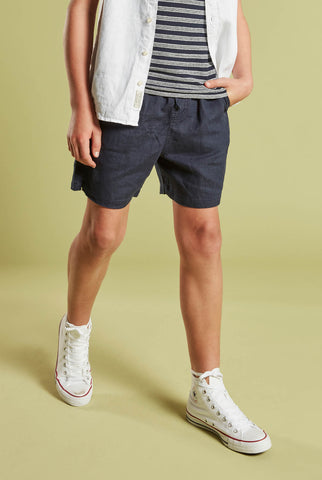 Boys Riviera Linen Short