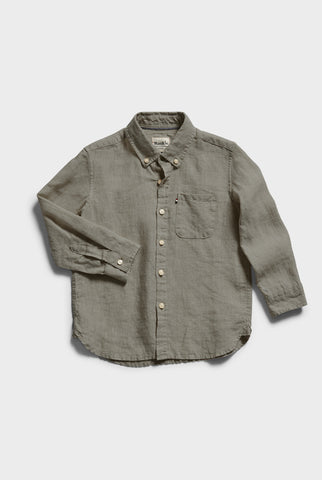 Kids Hampton Linen Shirt