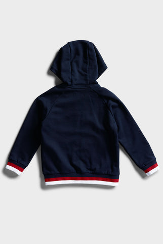 Racer Zip Sweat