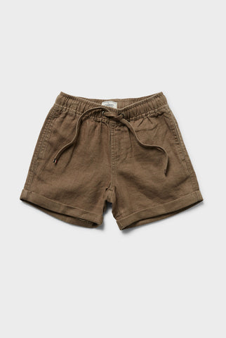 Kids Volley Linen Short