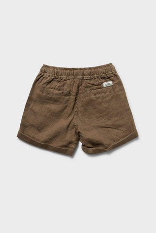 Volley Linen Short