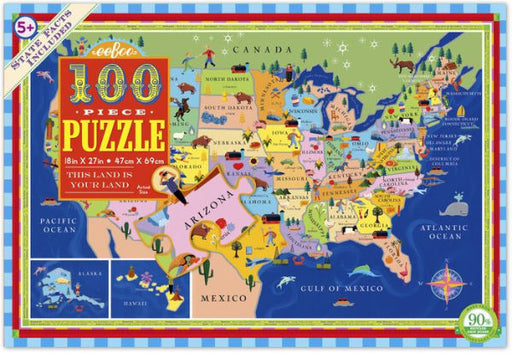 This Land is Your Land 100 Pc Puzzle