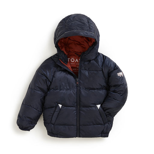 INK NAVY PUFFER JACKET