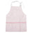 Wipeable Pink Check Smock