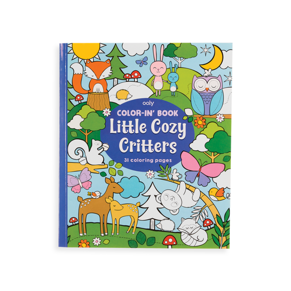 Ooly little cozy critters coloring book