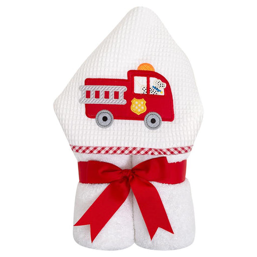3 Marthas Everykid Hooded Towel Firetruck