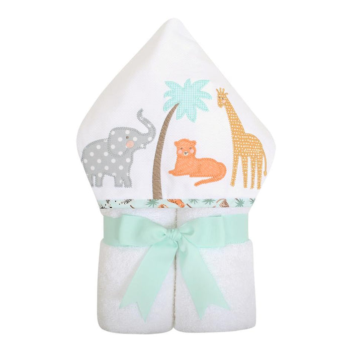 3 Marthas Everykid Hooded Towel Safari