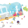 Ooly play again! reusable sticker scenes -mermaid magic