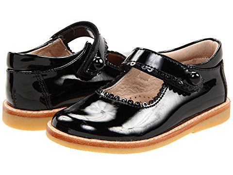 Elephantito Black Patent Mary Jane