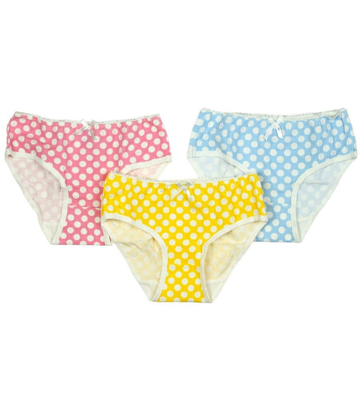 Toobydoos Girls Underwear 3pc (Polka Dots)