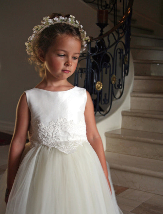 Enchanting Tulle Skirt Girls Dress