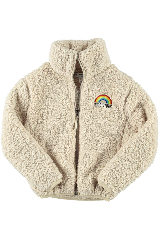 GOOD VIBES RAINBOW YOUTH SIZE TEDDY JACKET