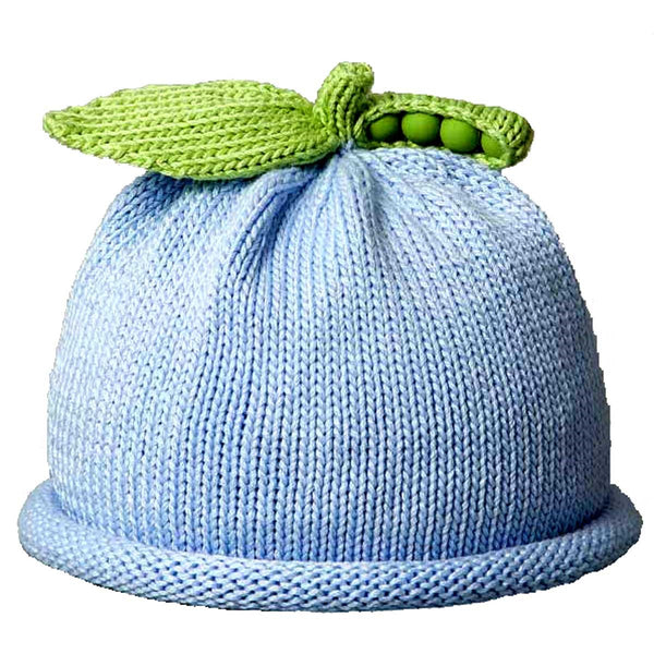 Margareta Horne Designs Sweet Peas Knit Hats _Solid Collection