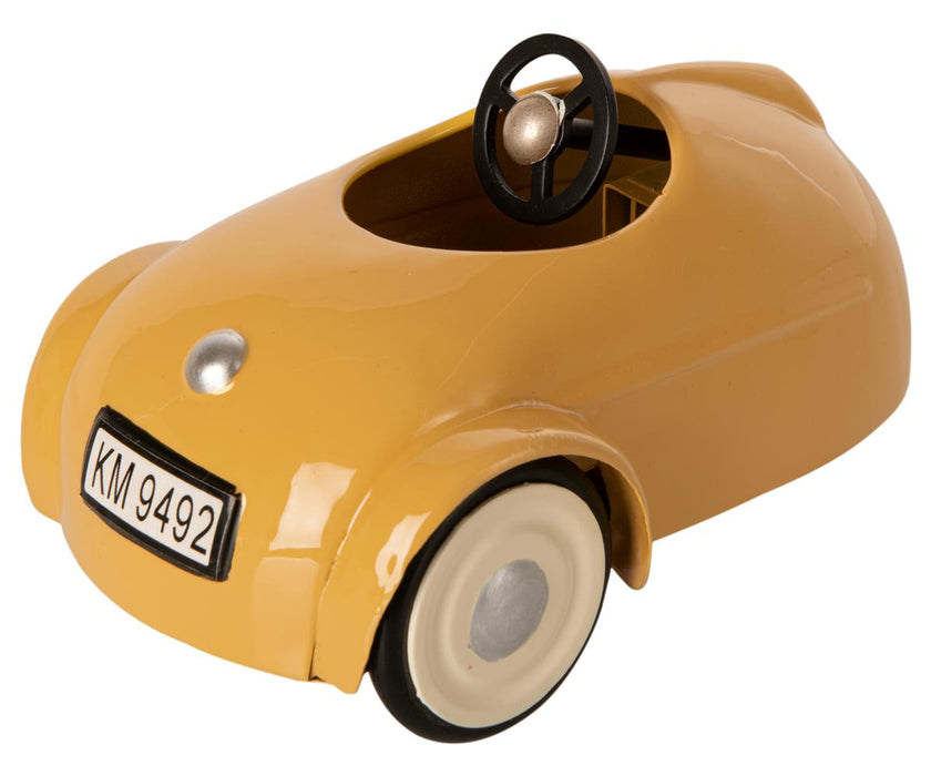 Maileg Mouse Car with Garage Yellow