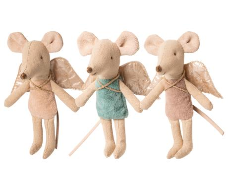 Maileg Fairy Mouse, Little Sister Assorted Colors