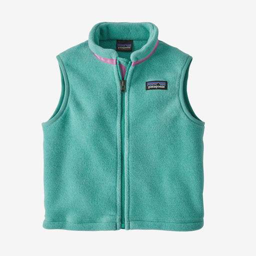 Patagonia Baby Synchilla Vest Light Beryl Green