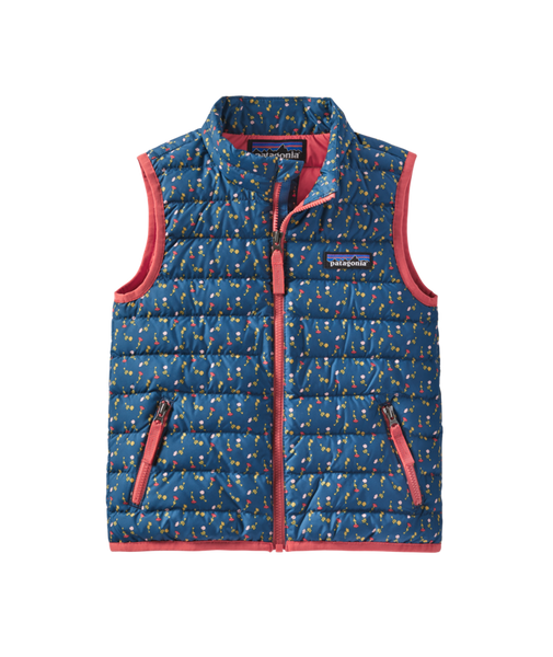 Patagonia Baby Down Sweater Vest Crater Blue